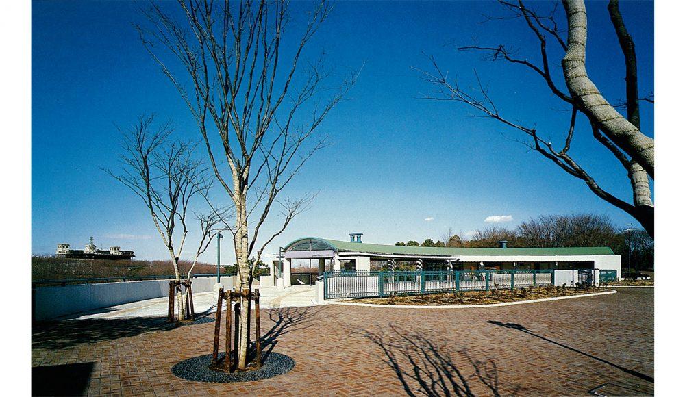 根岸森林公園休憩所1